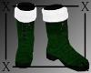 .X. Santa Baby Boots Grn