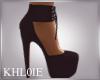 K Mel mauve heels