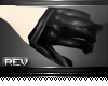 [Rev] Refrain Gloves Blk