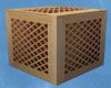 Vented Wood Crate