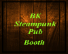 BK - Steampunk Pub Booth