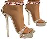 Flowered Heels