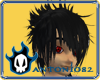 Rusiki Black Emo Hair
