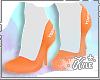Hooties | Orange Heels