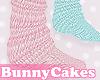 Pink Blue Loose Socks