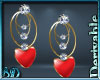 DRV Heart Earrings