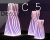 Neon floor lamp