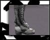 [TN] Silver Lolita Boot