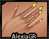[A] Margie Yellow Nails
