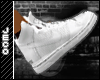 Clean White Nike kicks