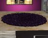 LC} Rug circle purple