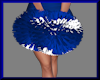 Doll's CheerPomPoms Blue