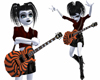 Black Orange Guitar