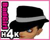 H4K Mafia Hat Grey