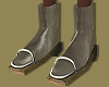 Olive Leather Boots