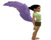 Light Purple Furry Tail