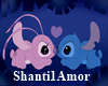 Stitch & Angel Bench