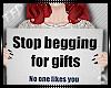 TFD  Stop Begging F