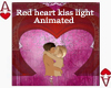 [AS]red heart kiss ligth