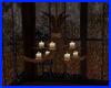 lámpara con velas