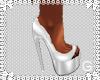 G l Angelic White Heels