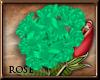 [R] Teal Head Flower