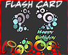 [m] Birthday Flash Card