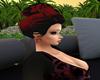 Hair red Black Sophie