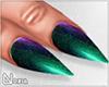 No. Peacock .Nails