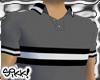 602 Gray Textured Polo