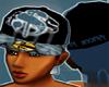 *CA* Teal Money Hat