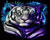 tiger bean bag