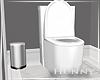 H. Modern Toilet + Trash