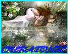 Water Angel Backdrop