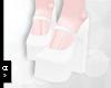 Ⓐ White Heels