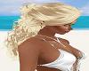 BLond Little Bun Hair