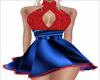 Sparkle Rose mini dress