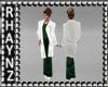 Doctors Coat/Green Scrub