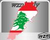 wzn Lebanon Flag-Map