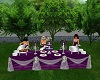 Purple Wedding Buffet