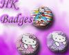 !!*HelloKitty Badges