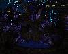 Blue neon Fountain