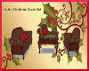 ~L.A~Christmas Couch Set