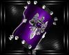 b purple drag brace L