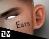 . EARS GOOD SIZE