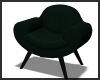 Green Curved Chair