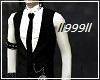 Layerable suit Tie black
