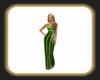 Caz green gown