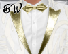 W Gold Art Wedding Suit