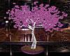Purple Rose Tree